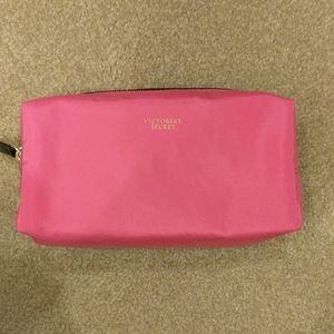 Victoria's Secret small pink cosmetic bag